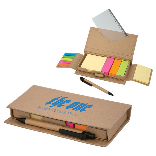 Personalized 475 Large Sticky Notepad Set