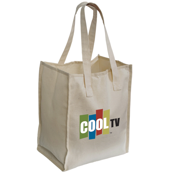 Imprinted Organic Cotton Tote