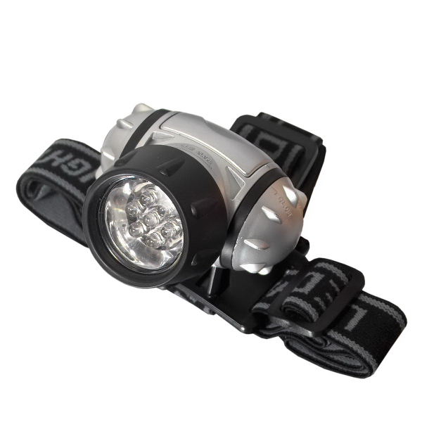 Custom 7 LED Hands Free Head Light