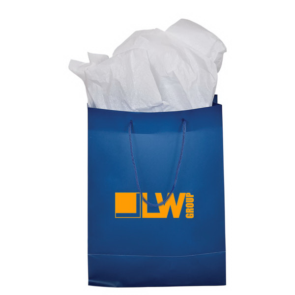 Personalized Gift bags and tissue paper medium