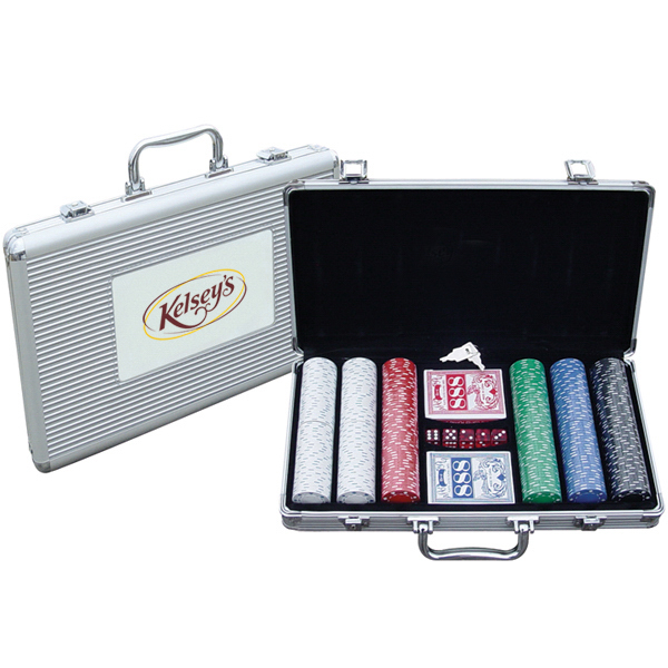 Printed Poker Set