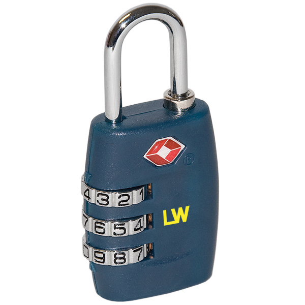 Customized TSA-accepted Travel Lock