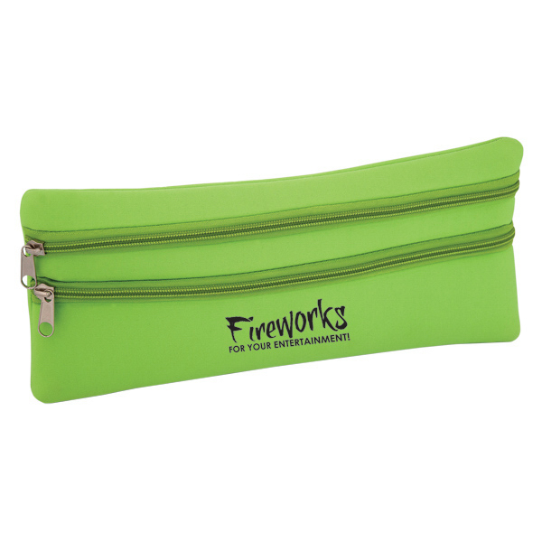 Personalized Neoprene Computer Accessory Pouch