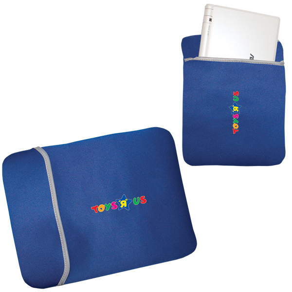 "Imprinted 10.1"" Neoprene Netbook / tablet Sleeve"