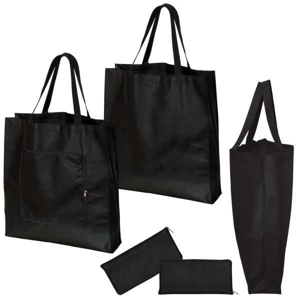 Promotional Non Woven Magic Folding Shopping Tote