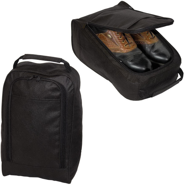 Printed Non Woven Golf Shoe Bag