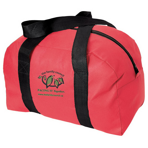 "Custom 15"" Non Woven Sports / Duffel Bag"