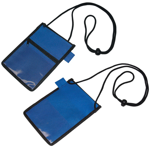 Promotional Non Woven Identification Holder / Wallet