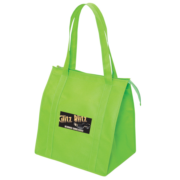 Personalized Non Woven jumbo zippered tote