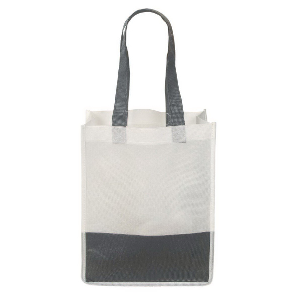 Personalized Non Woven Mini Stripe Tote