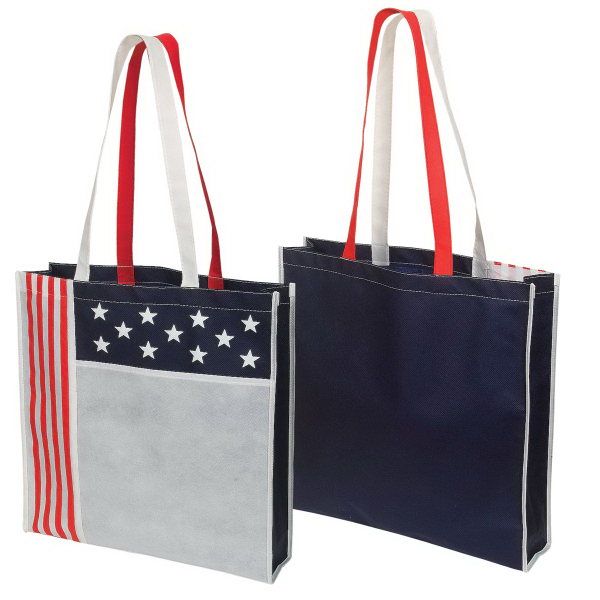 Customized Non Woven USA Tote