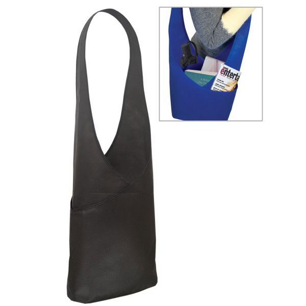 Promotional Non Woven Shoulder / Sling Bag