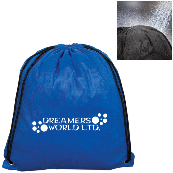 Customized Non Woven Water Resistant Knapsack