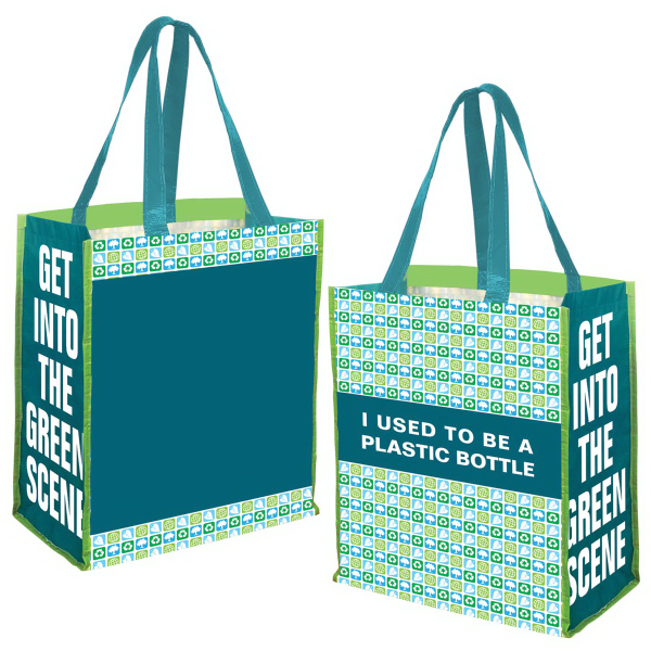 Personalized PET Preprinted Jumbo Grocery Tote