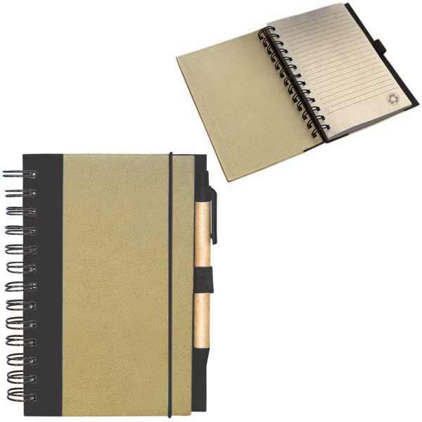 Printed Recycled Cardboard Notepad