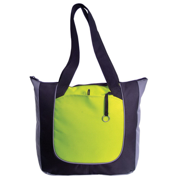 Imprinted Polyester Shopper Tote