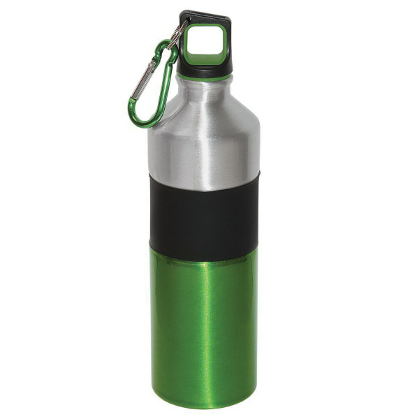 Promotional 750ml (25 oz.) Aluminum Sports Water Bottle
