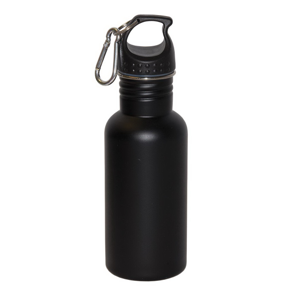 Customized Wide Mouth 500 ml (16oz) Stainless Steel Water Bottle