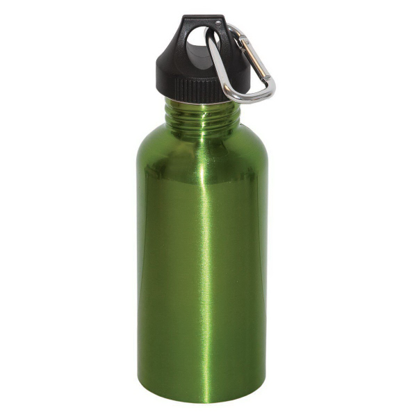 Customized Wide Mouth 800 ml (27 oz.) Stainless Steel Water Bottle