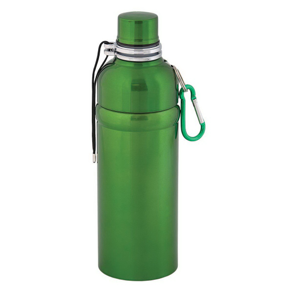 Imprinted X2 Hydrate Stainless Steel Water Bottle 500 ml (16oz)