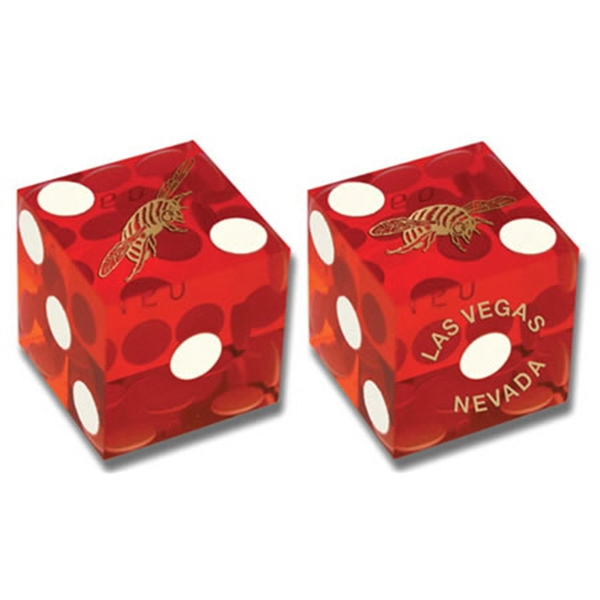 "Customized 3/4"" Casino-Quality Perfect Dice"