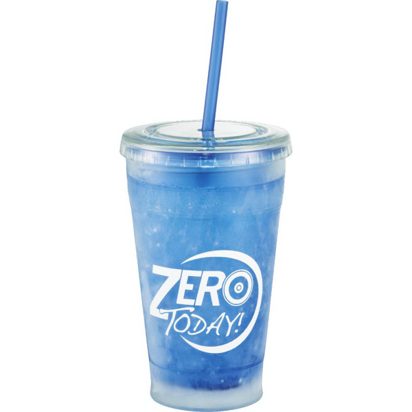Printed Cool Gear (R) Sedici Chiller Tumbler 20oz
