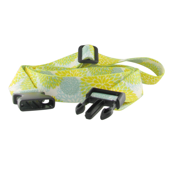 Personalized Dye Sublimated Luggage Strap
