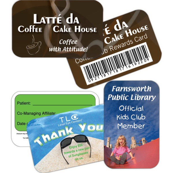 Printed Key Tag - Loyalty Wallet Card - Full Color