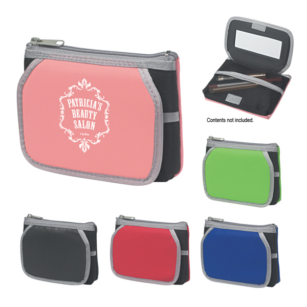Personalized Cosmetic Case With Mirror