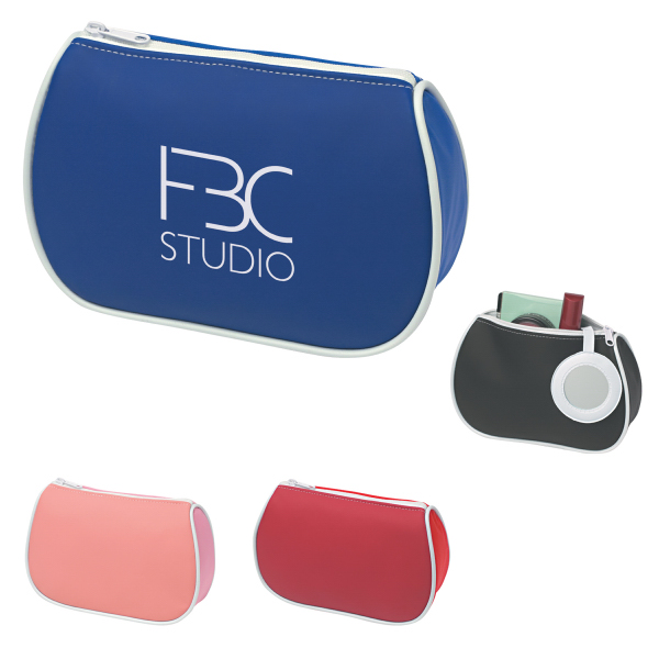 Custom Amenities Bag With Mirror