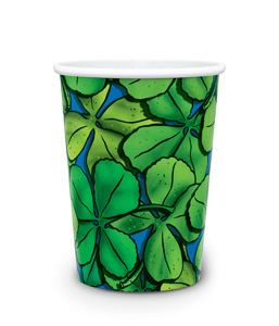 Custom Visstun®-17oz-Reusable White Plastic Cup-Full Color