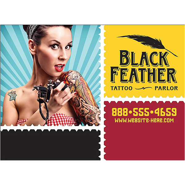 """Promotional Magnet - 3.375"""" x 2.5"""" Square Corners - 20 Mil"""