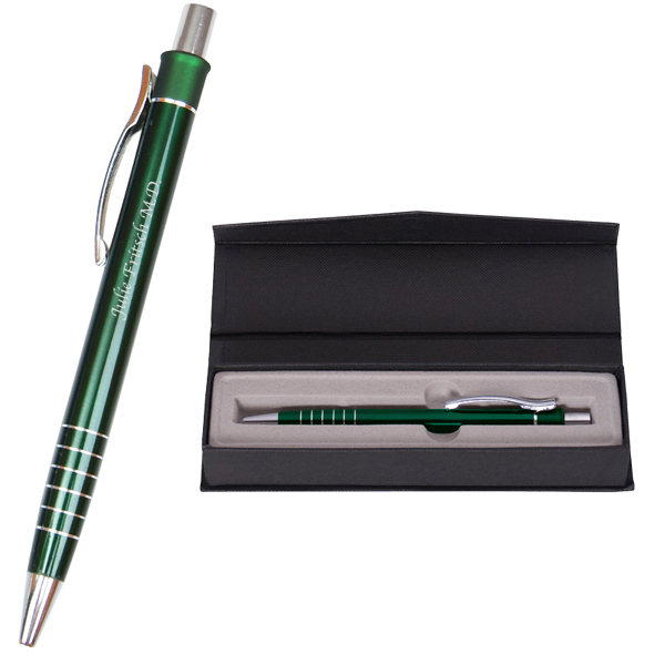 Imprinted Metal Multi Ring Pen