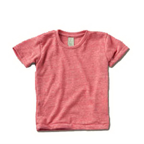 Printed Toddler Eco-Heather Crew