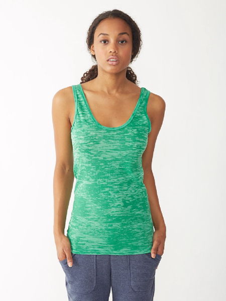 Imprinted Women's Burnout Tank