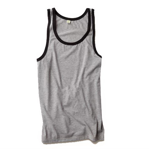 Personalized Men's Contrast Jersey Tank