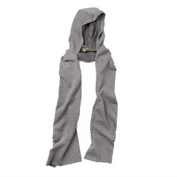 Imprinted Unisex Eco-Hooded Scarf