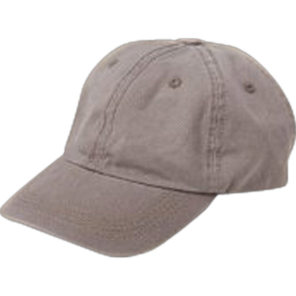 Imprinted Unisex Basic Chino Twill Cap