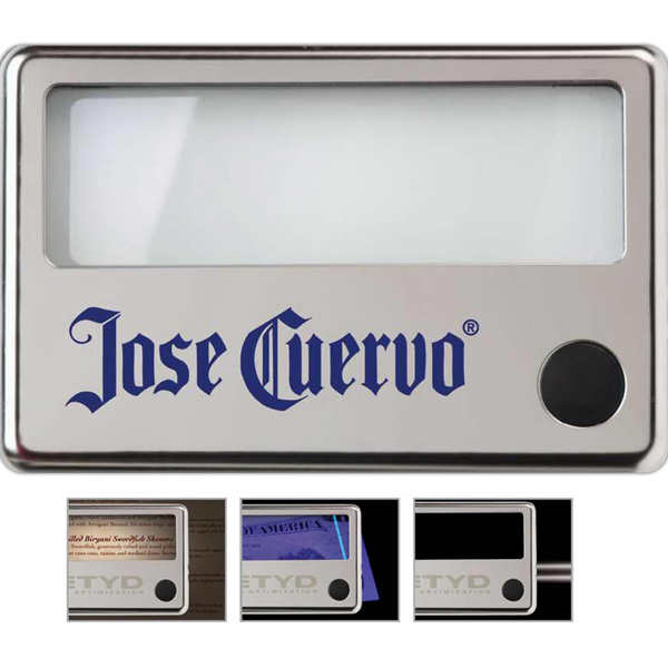 Printed Illuminated Menu Magnifier