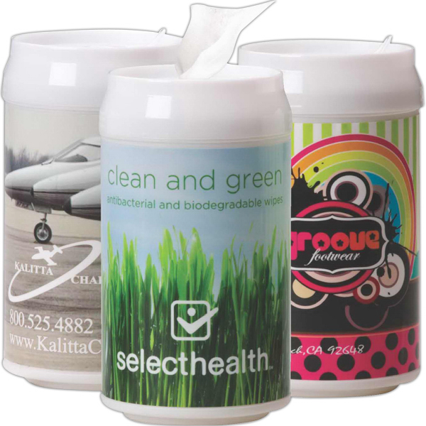Customized Can-Of Antibacterial Wipes
