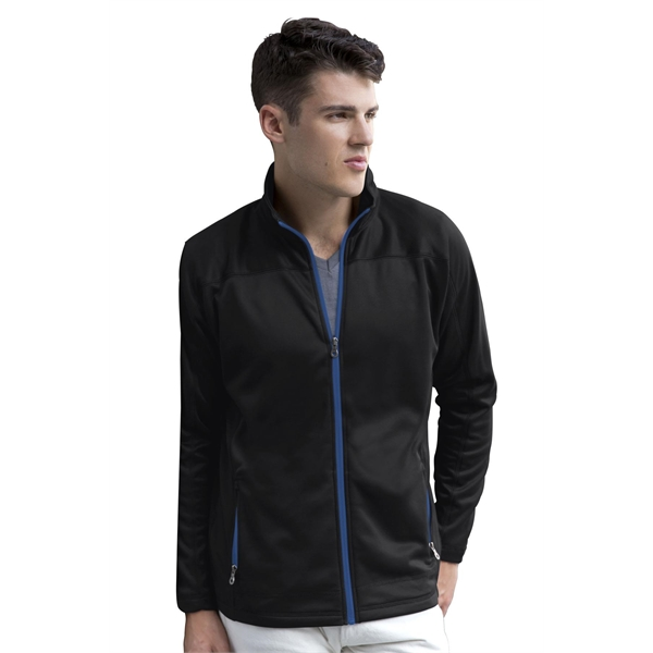 Promotional Brushed Back Micro-Fleece Full-Zip Jacket