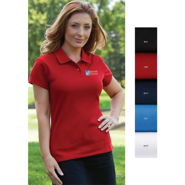 Personalized Adidas Women's ClimaLite (R) Blended Pique Polo
