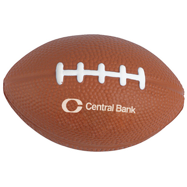 Printed Football Stress ball