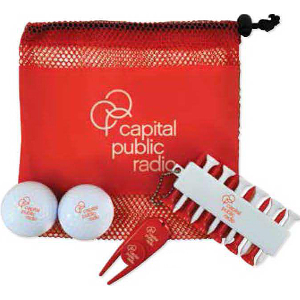 Personalized Mini Mesh Golf Kit