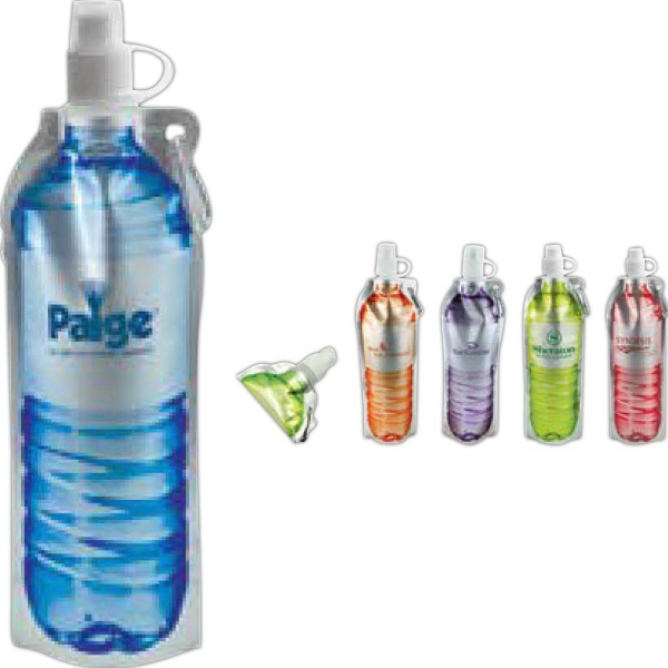 Promotional 18 oz Hydra Flat Bottle