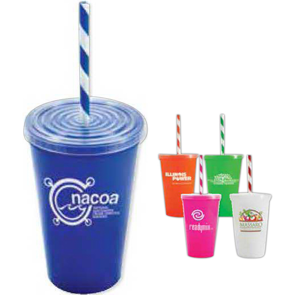 Imprinted 20 oz Stadium 2 Go