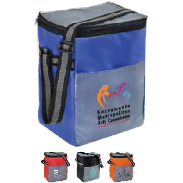 Custom Chromatic 12 Pack Cooler Bag