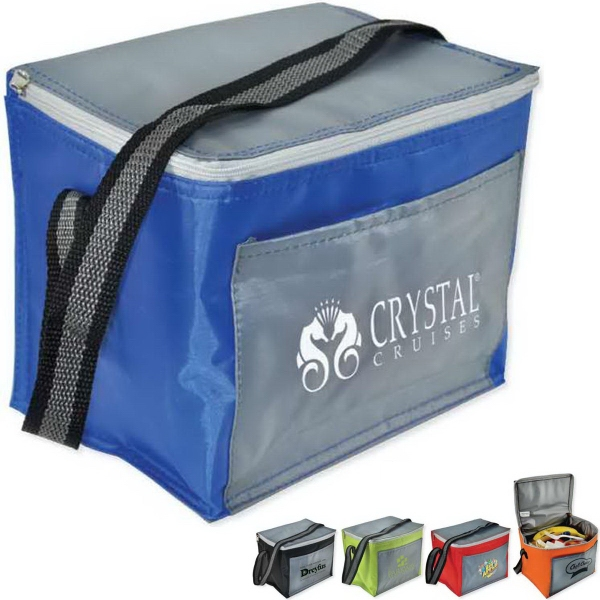 Customized Chromatic 6 Pack Cooler Bag