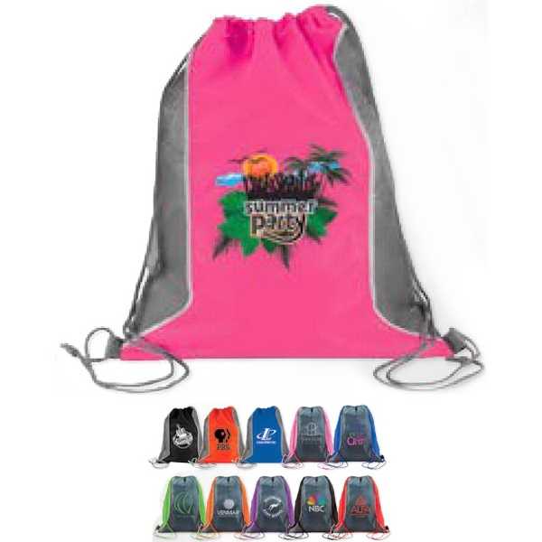 Imprinted Reef Mesh Backsack