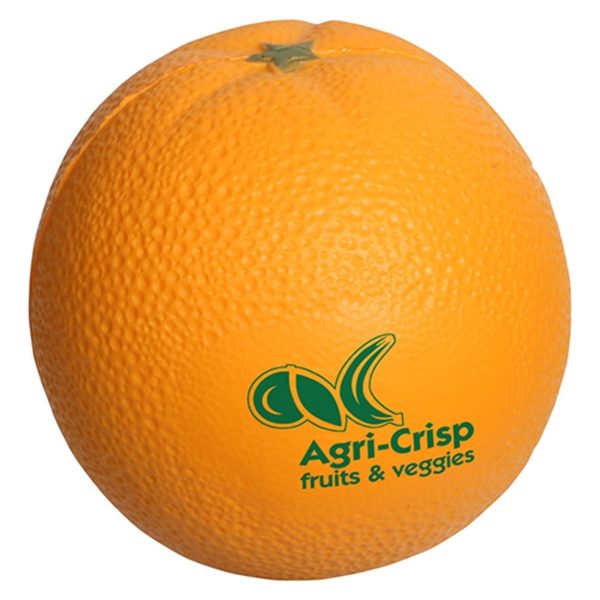 Promotional Orange Stress Reliever